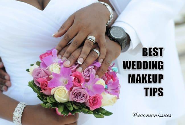 best wedding makeup tips