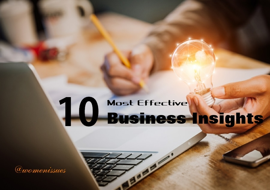 10 Most Effective Business Insights