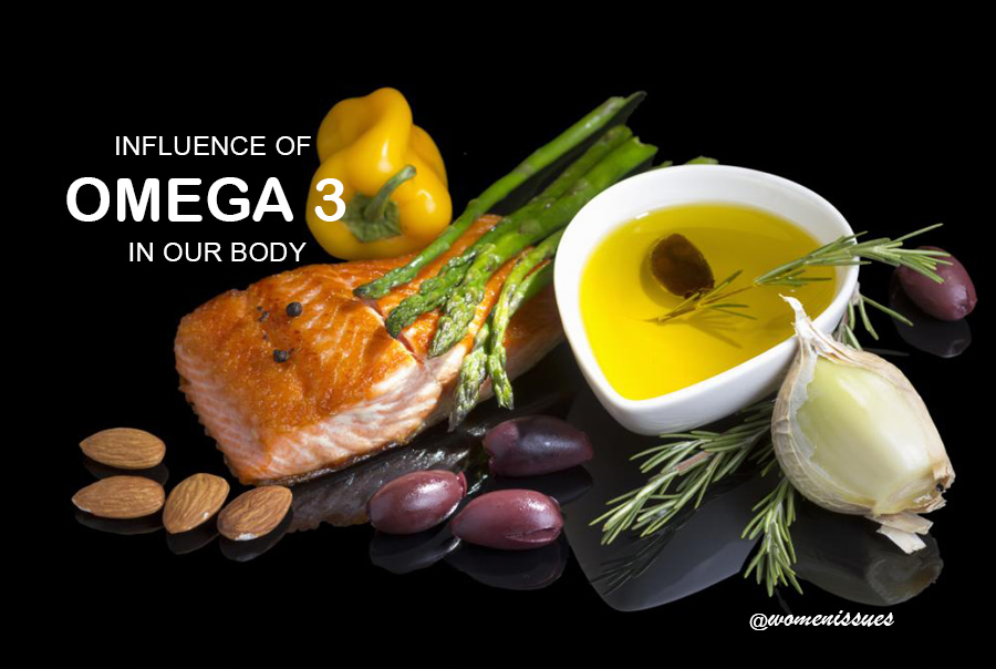 THE OVERALL INFLUENCE OF OMEGA 3 IN OUR BODY